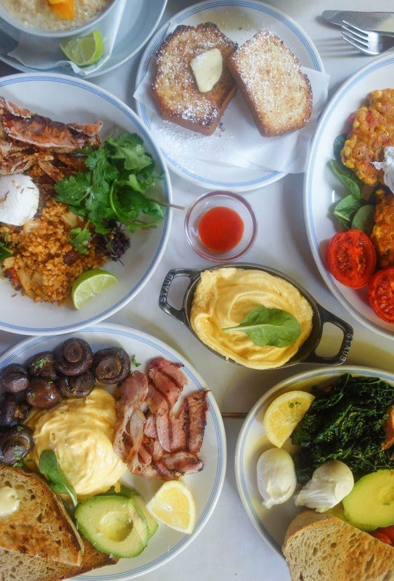 Best Breakfast & Brunch in North London (Image of breakfast at Granger & Co)