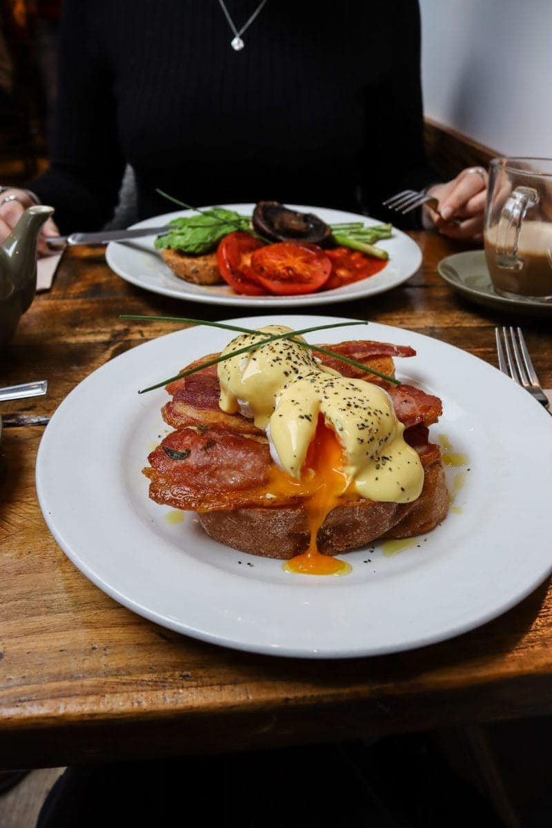 Best Breakfast & Brunch in North London (Image of breakfast at The Barn, Holloway)