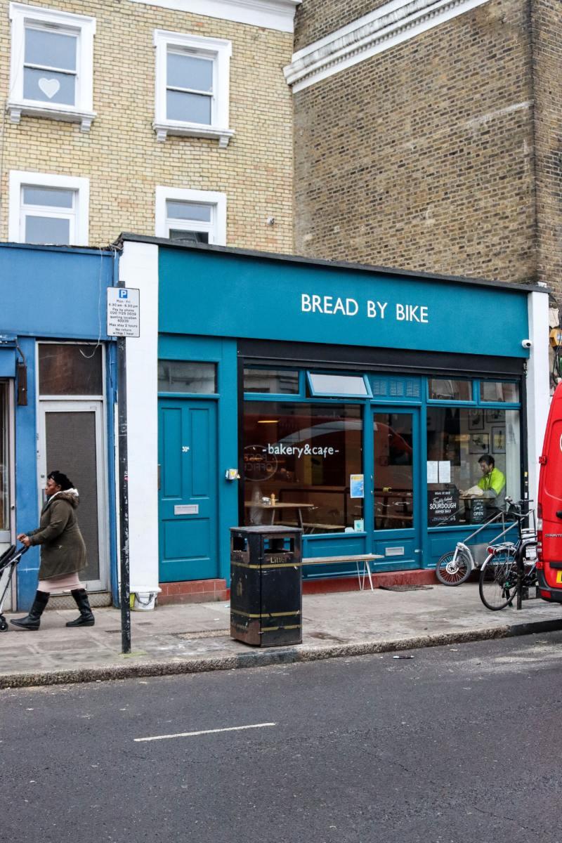 Best Breakfast & Brunch in North London (Image of Bread by Bike)
