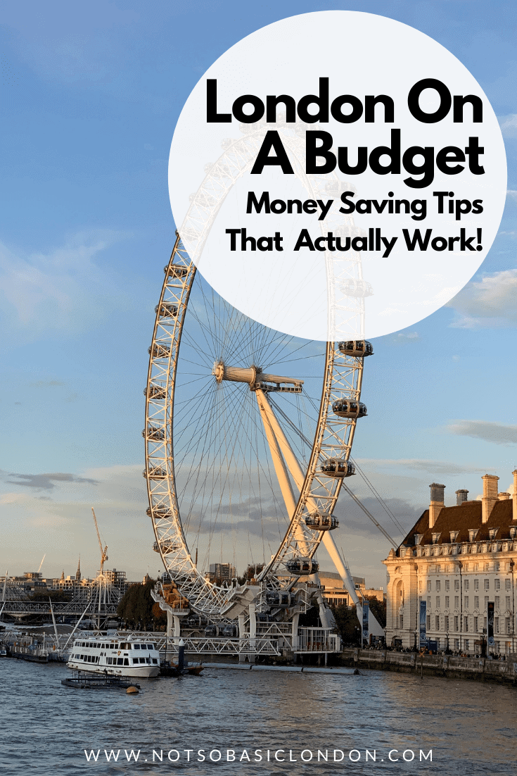 London On A Budget | Great Money Saving Tips