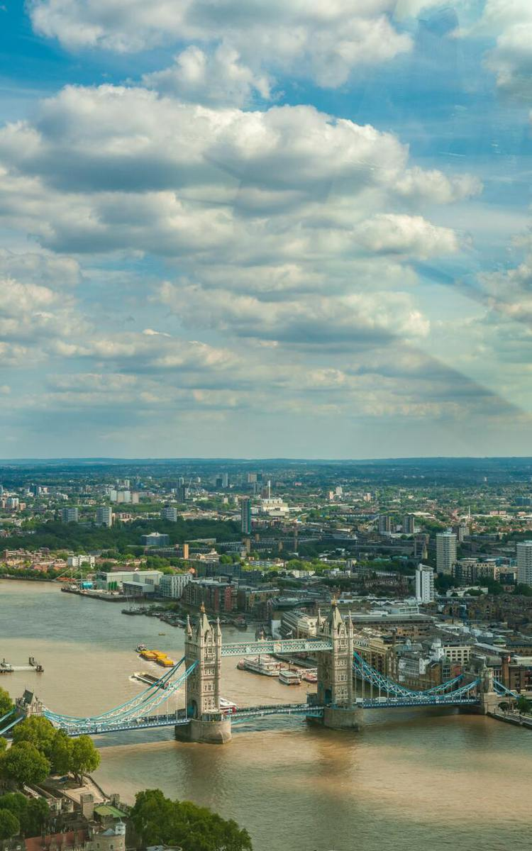London On A Budget | Great Money Saving Tips (Picture of a view of London)