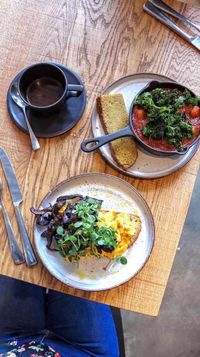 Best Breakfast & Brunch in South London (Image of breakfast from Origin Coffee)