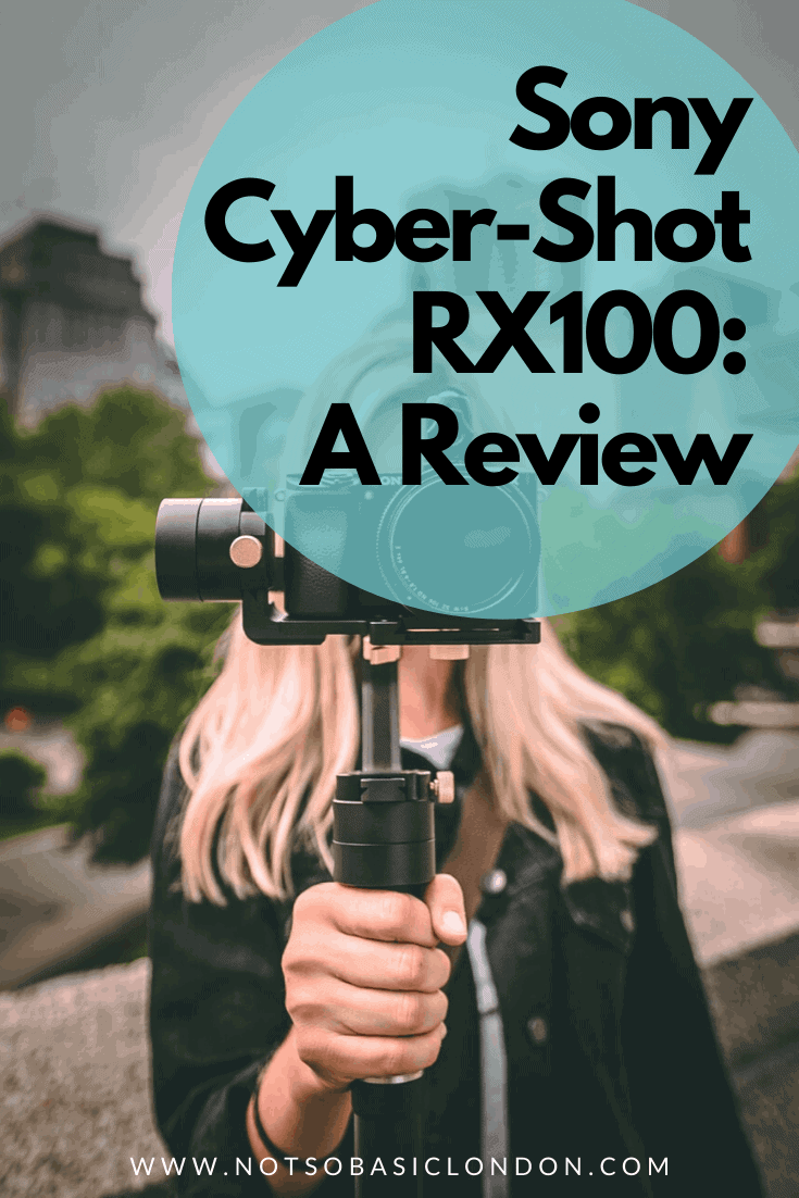 Sony Cyber-Shot RX100: A Review
