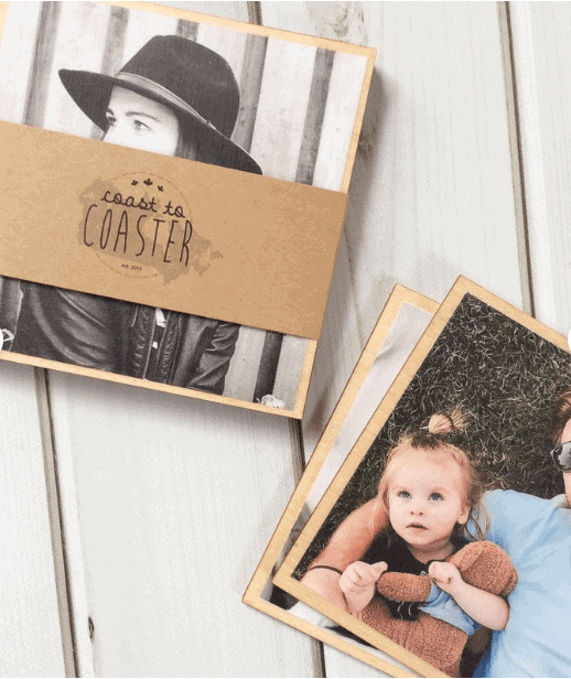 Personalised Coasters - Awesome Gift Ideas For Photographers (At All Levels & For All Budgets!)
