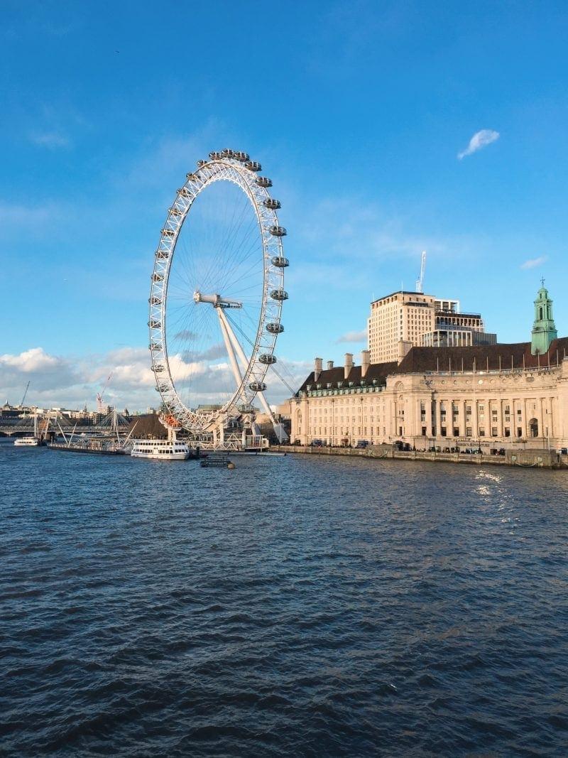 FREE Sightseeing Walking Tour of London (Photo of the London Eye)