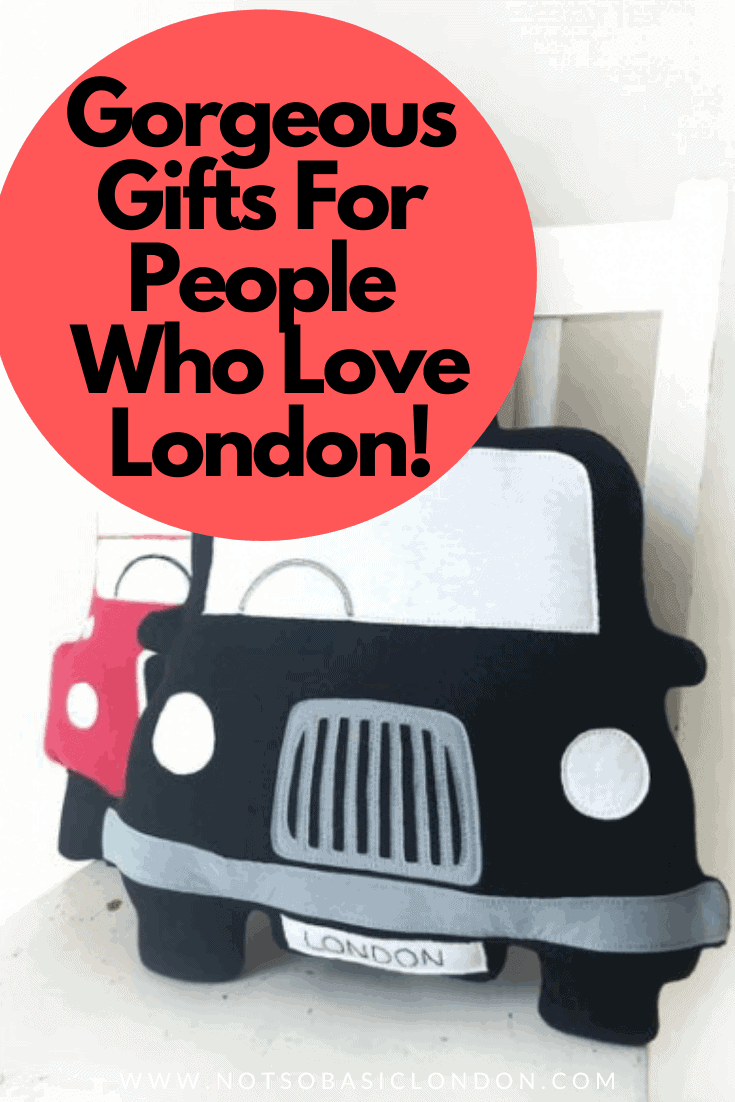 Gorgeous Gift Ideas For People Who Love London