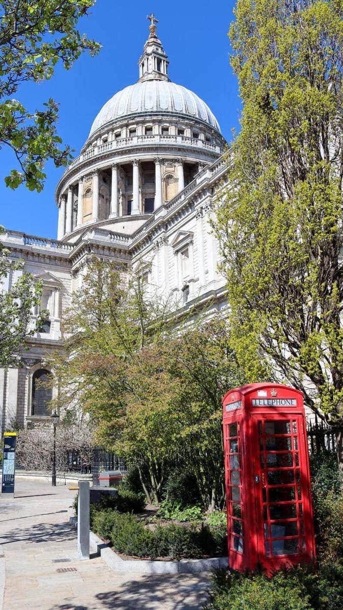 100 Fun Things To Do in London (Image of St Pauls Catherdral)