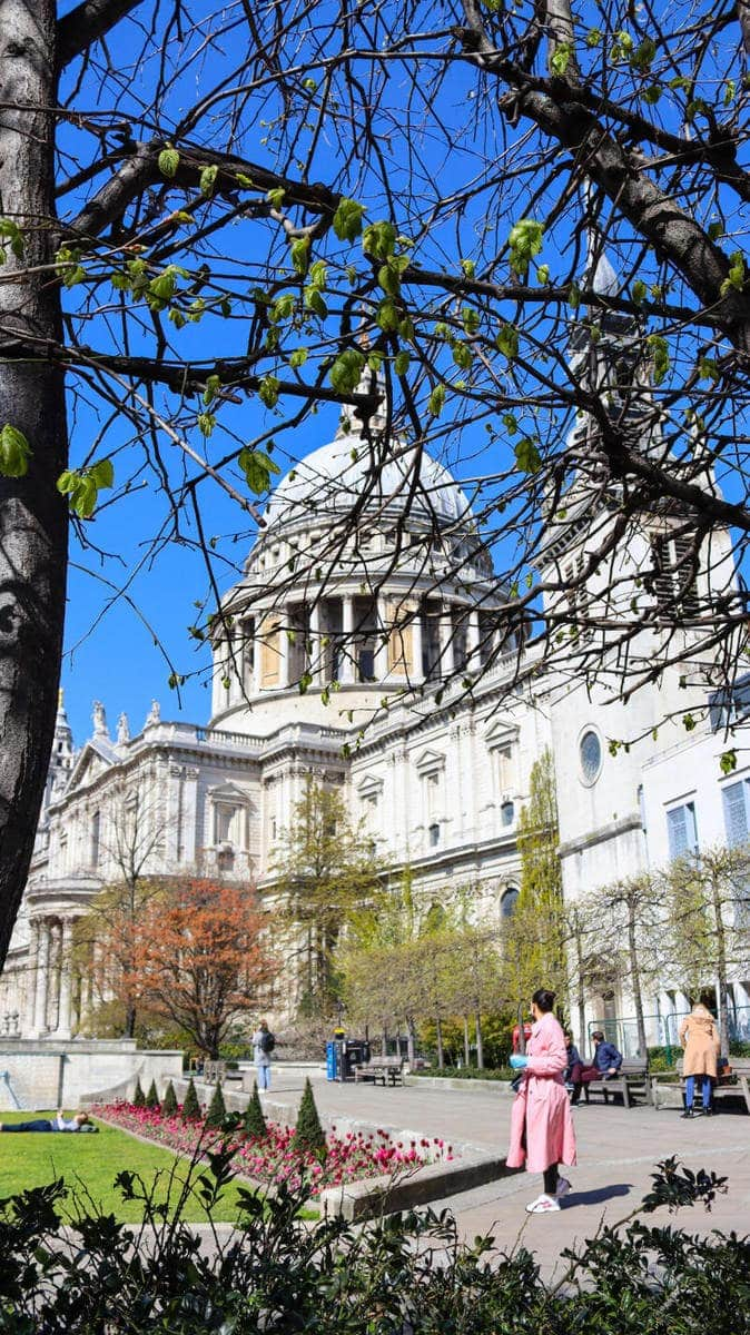 100 Totally Free Things To Do in London (Picture of St Paul's Cathedral)