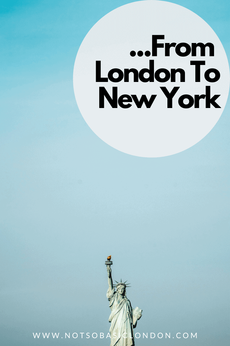 From London to New York. Don't Forget Your ESTA (Sponsored)