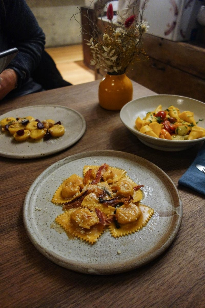 London's Best Pasta Restaurants (Image of pasta from Pophams)