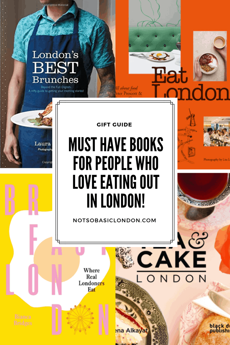 Must-Have Books for People Who Love Eating Out in London!