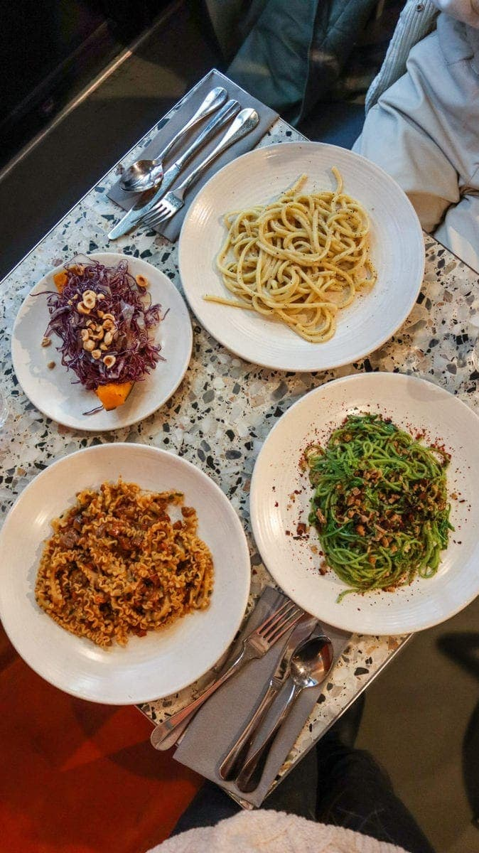 London's Best Pasta Restaurants (Image of pasta from Pastaio)