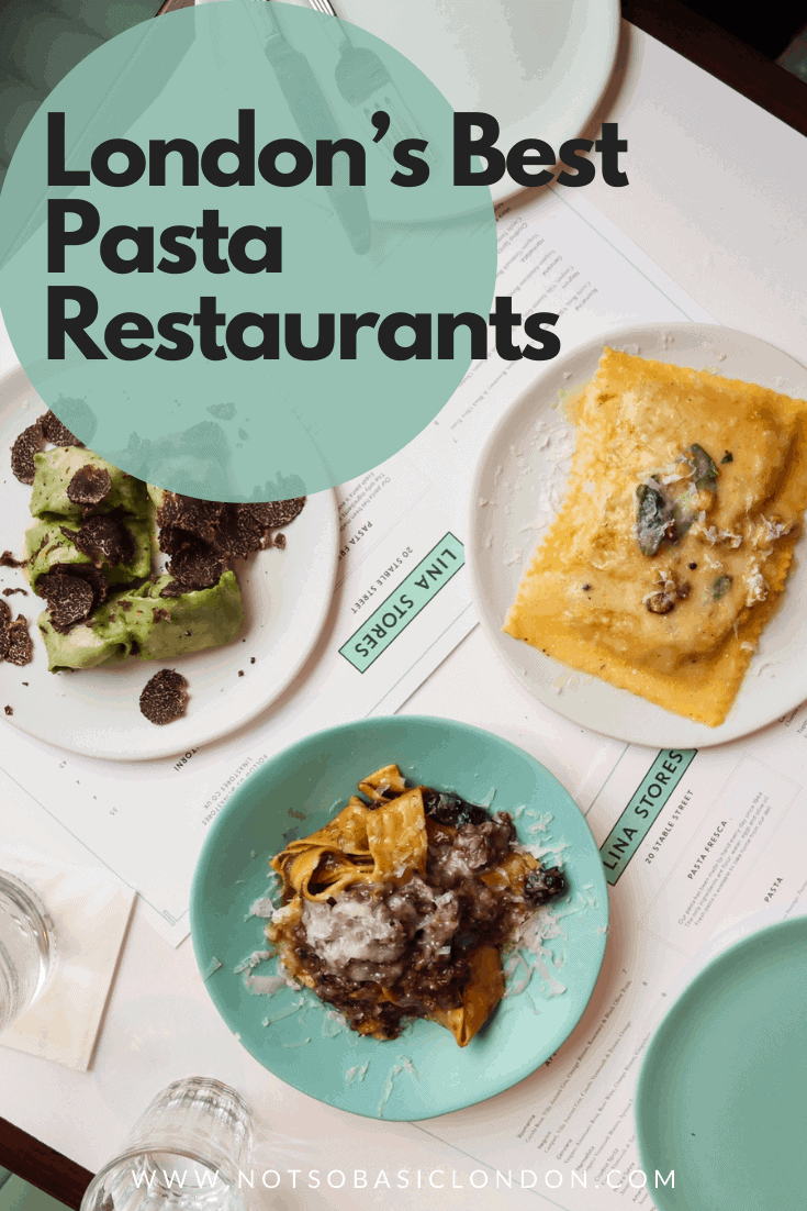 London's Best Pasta Restaurants