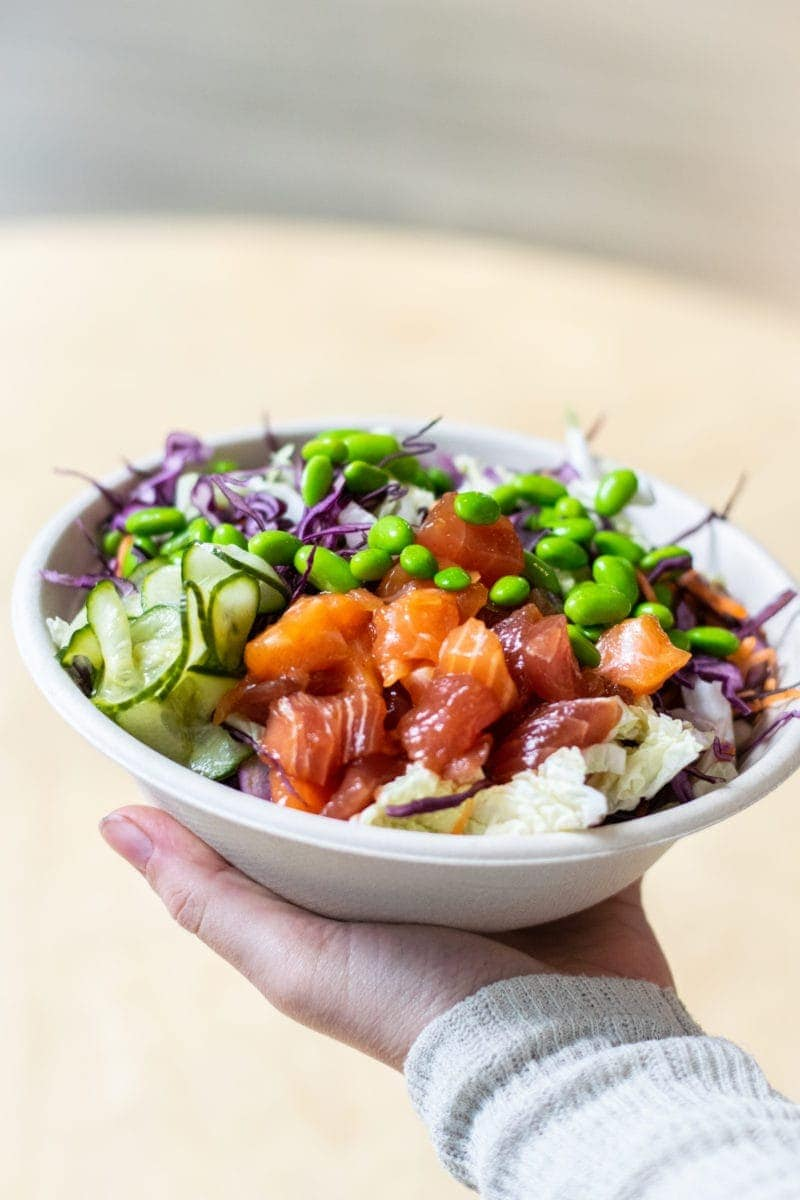 Poke Bowl in London - Where To Go In Fitzrovia Where Women Are Bossing It!