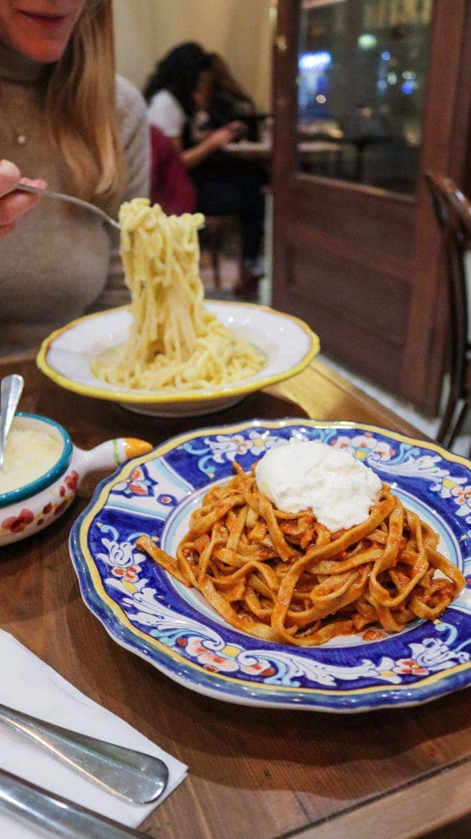 London's Best Pasta Restaurants (Image of pasta from Berto)