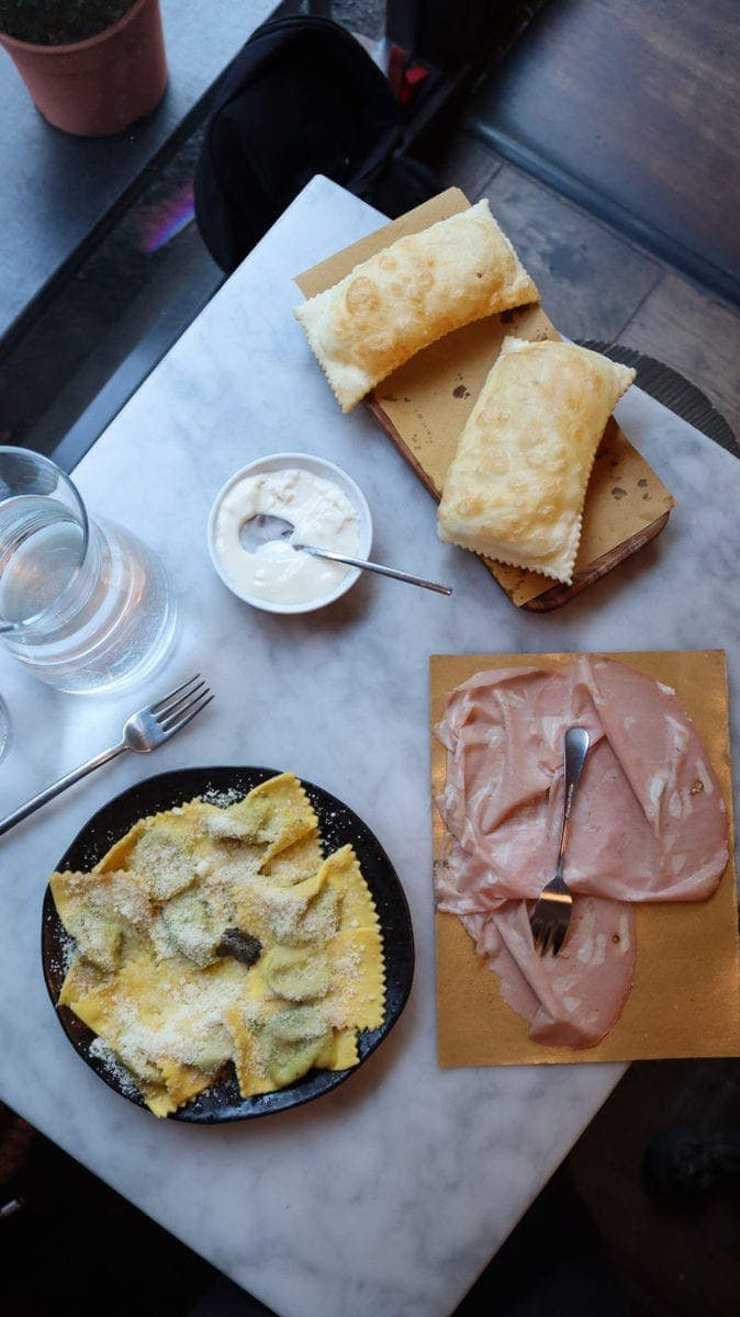 London's Best Pasta Restaurants (Image of pasta from Via Emelia)