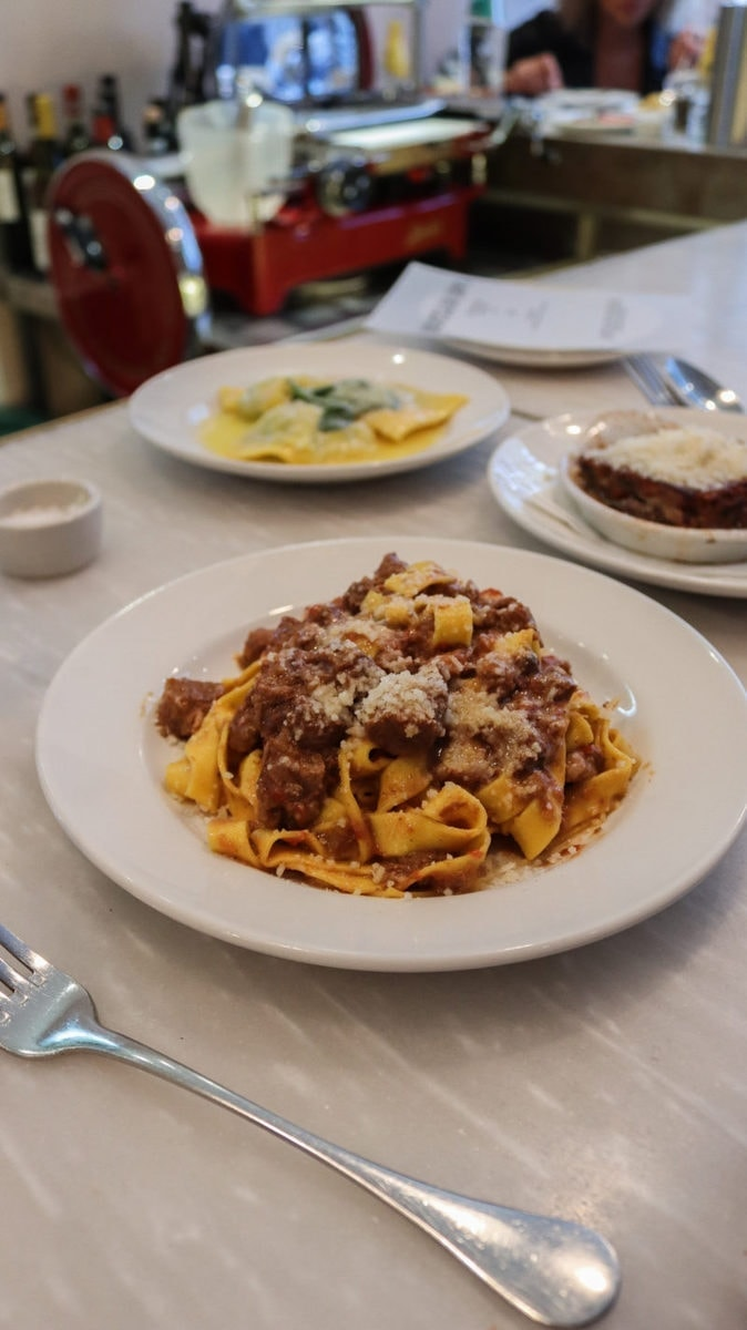 London's Best Pasta Restaurants (Image of pasta from Bocca di Lupo)