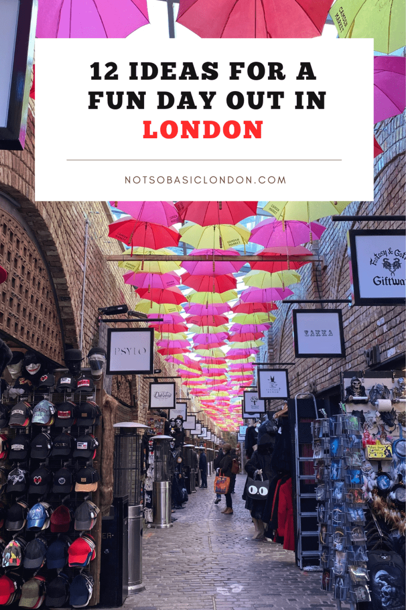 12 Fun Ways To Spend A Day Out in London