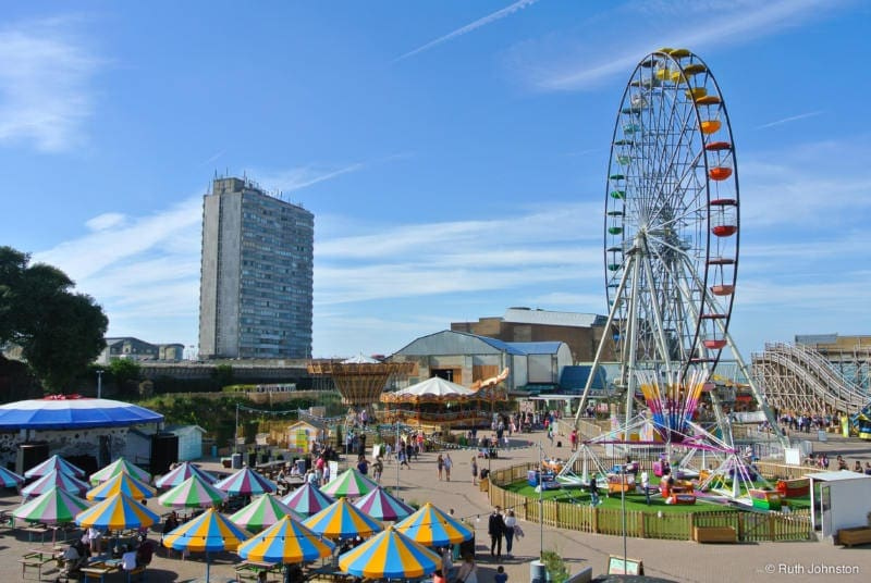 Easy Day Trips From London You Must Do! (Picture of Margate Funfair)