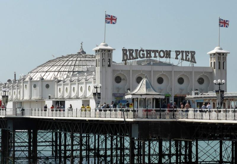 Easy Day Trips From London You Must Do! (Picture of Brighton Pier)