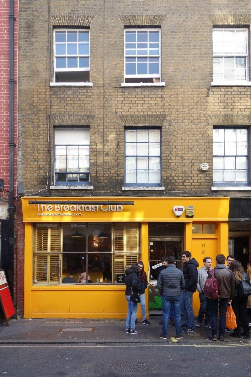 Best Breakfast & Brunch in East London (Image of The Breakfast Club)