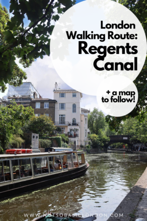 Self Guided London Walking Tour Of Regent's Canal