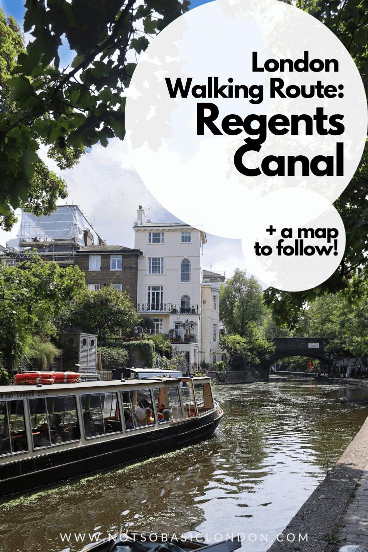 London Walking Tour: Regents Canal