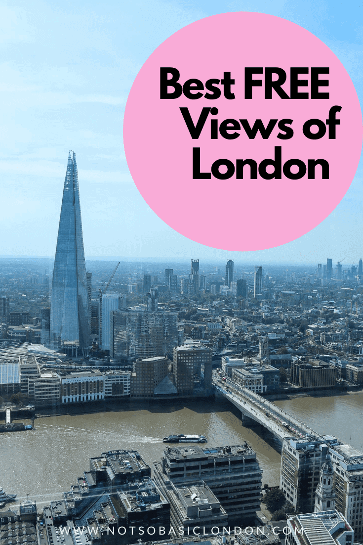 Best FREE Views of London | Where To Find Them