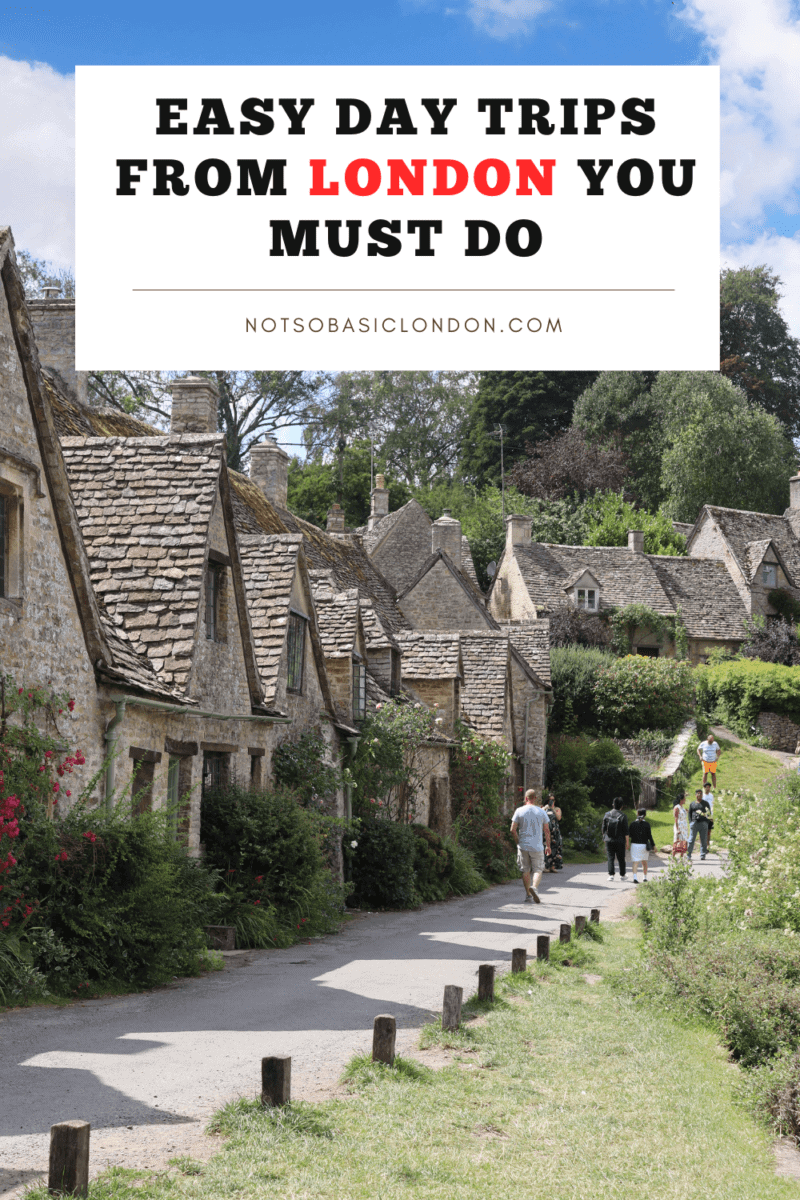 Easy Day Trips From London You Must Do!