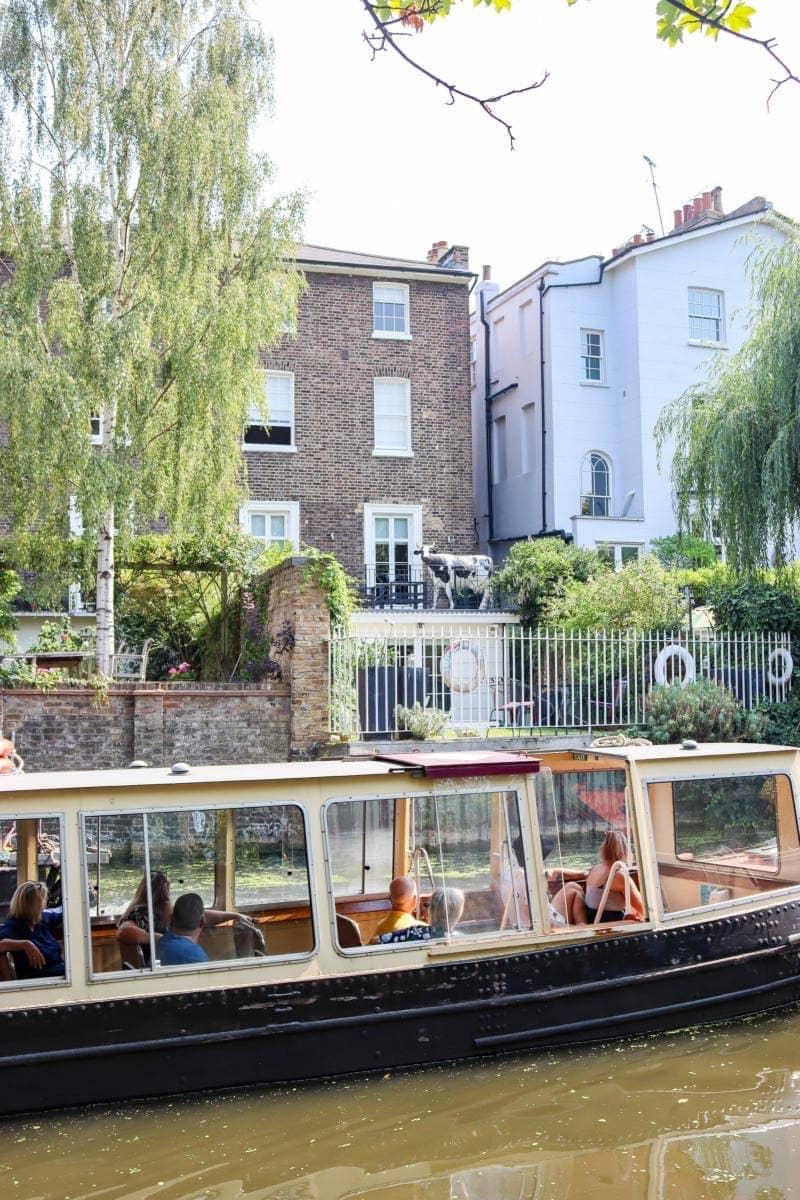 London Walking Route: Regents Canal