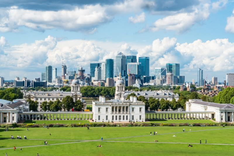 Greenwich - Best FREE Views of London | Where To Find Them