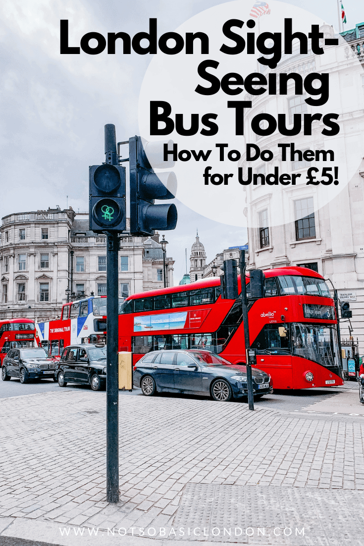 Cheap Sightseeing Bus Tour of London