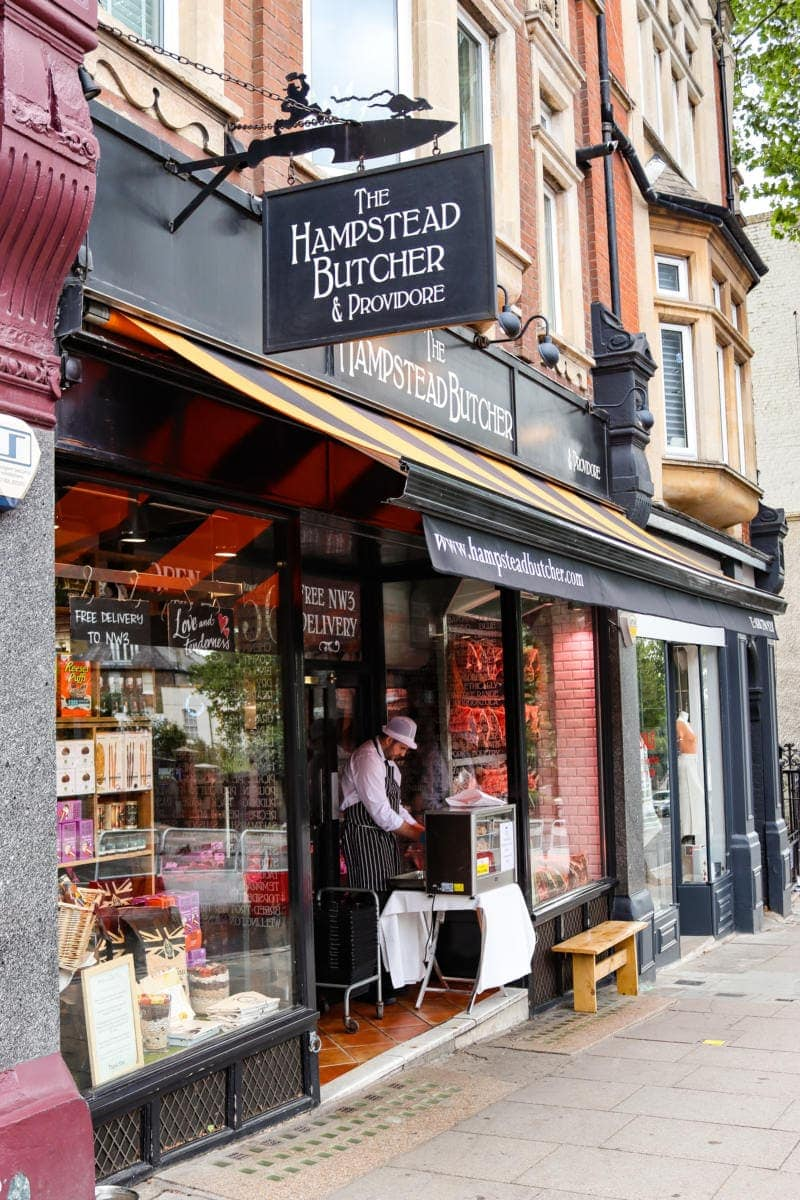 Pretty Shop in Hampstead - Self Guided Walking Tour of Hampstead