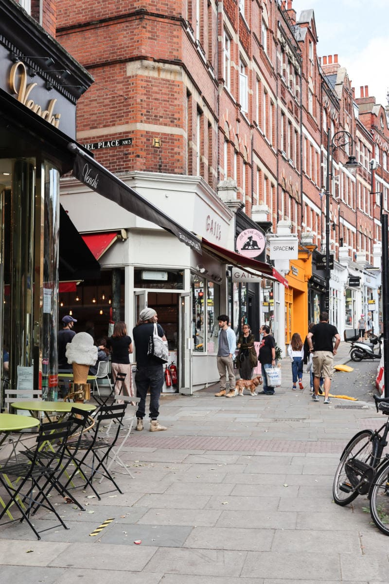 Self Guided London Walking Tour Of Hampstead (Image of Hampstead High Street)