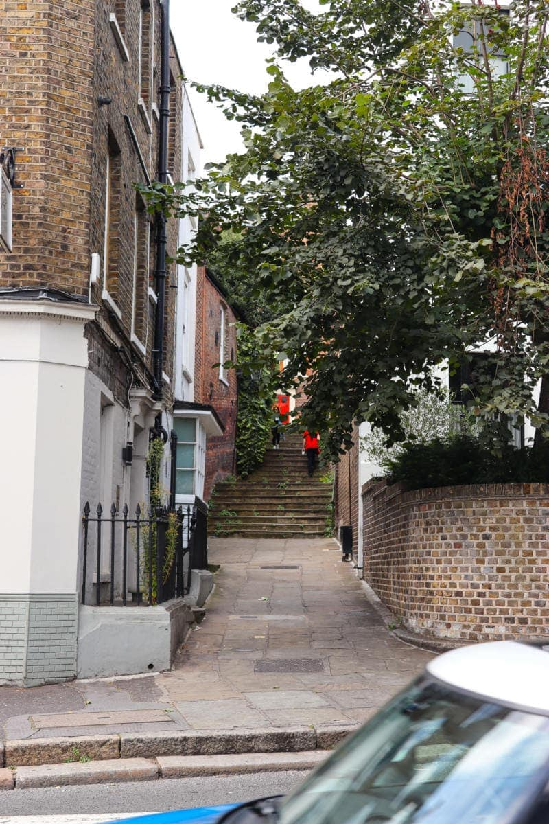 Pretty Street in Hampstead - Self Guided Walking Tour of Hampstead