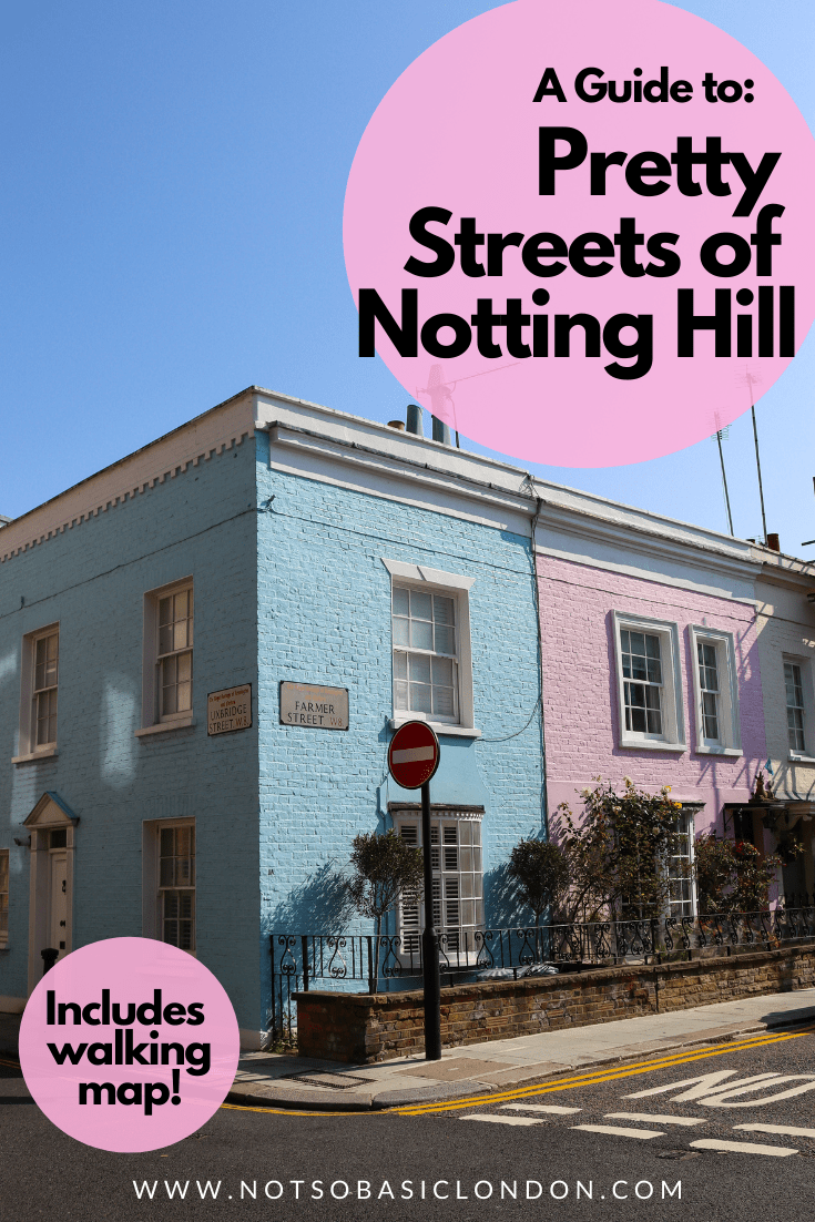 Prettiest Streets & Houses in Notting Hill (+Map!)