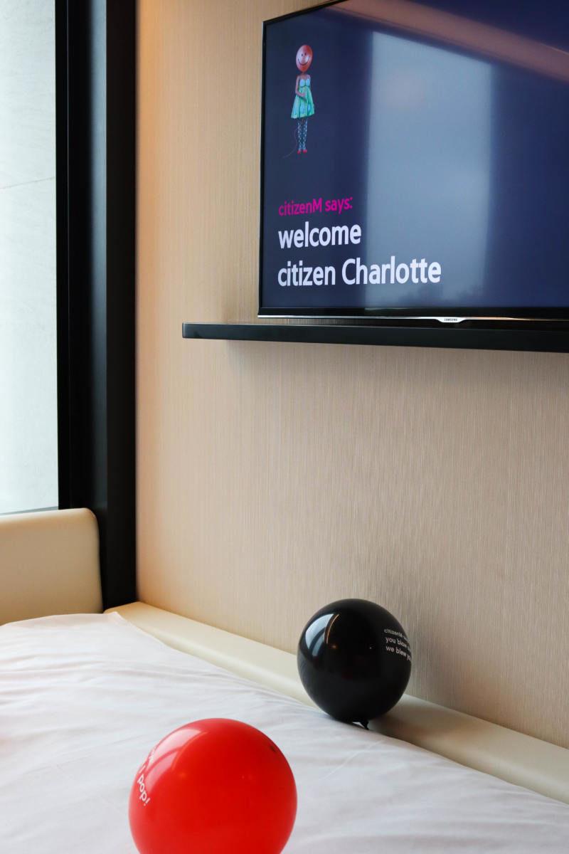 Citizen M Hotel Room