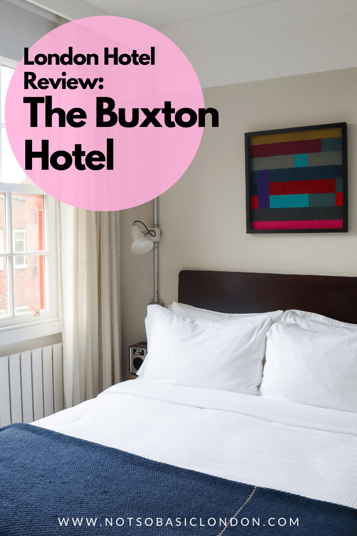 London Hotel: The Buxton