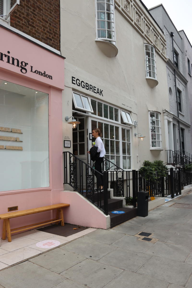 Self Guided London Walking Tour Of Notting Hill (Image of Eggbreak in Notting Hill)