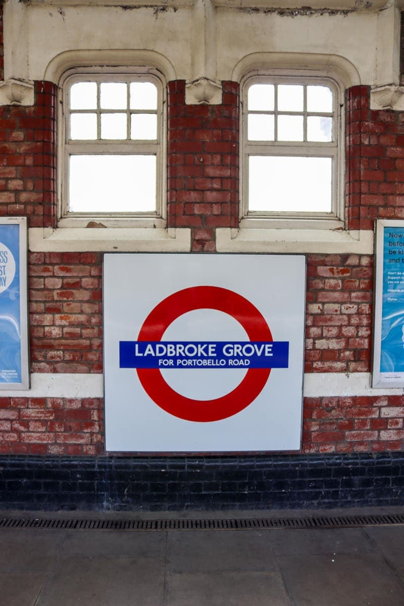 Ladbroke Grove Tube Station - London Walking Tour: Notting Hill