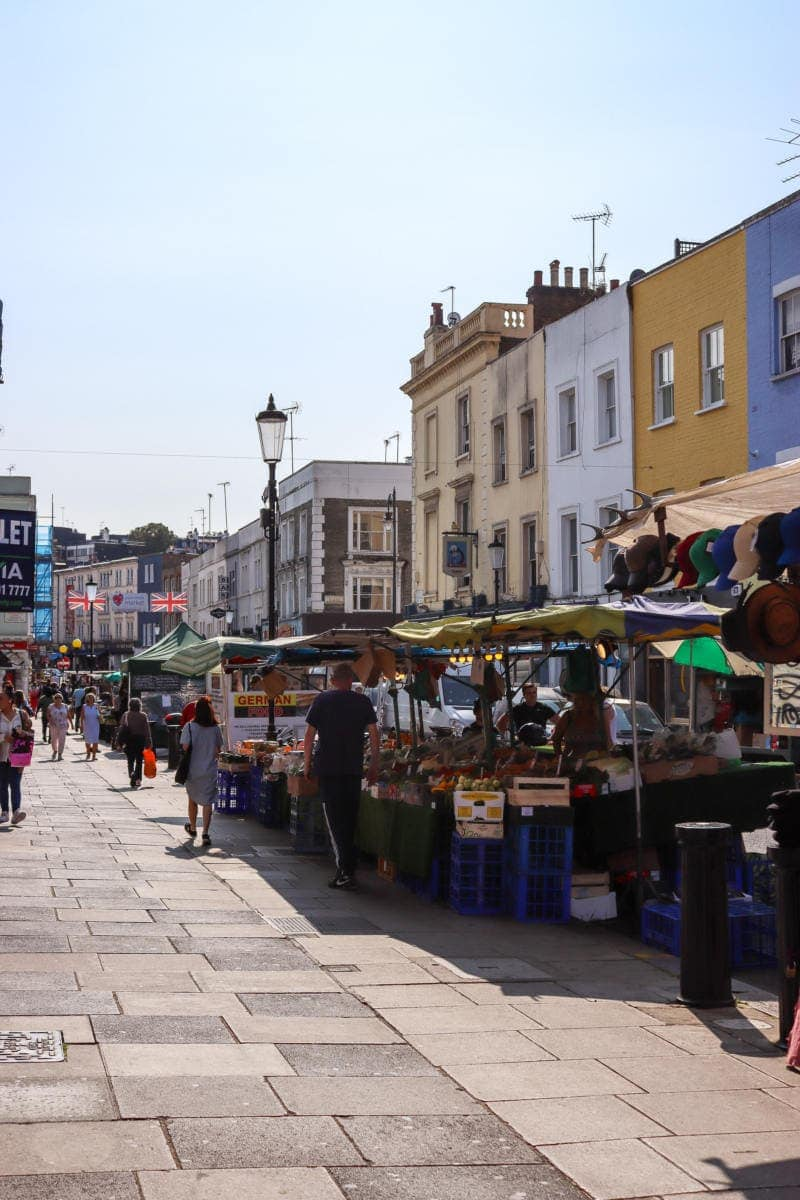 Portobello Road Market - London Walking Tour: Notting Hill