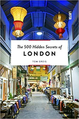 32 London Themed Gift Ideas (Photo of 500 hidden secrets of London book)