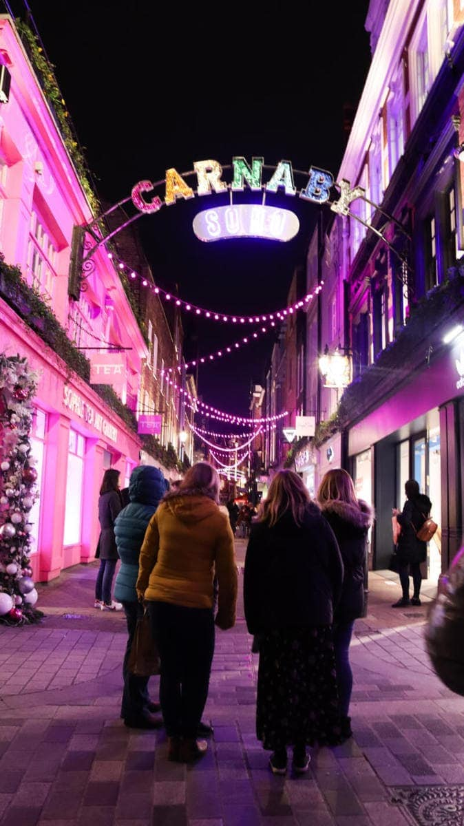 Carnaby Street - London's Most Spectacular Christmas Lights