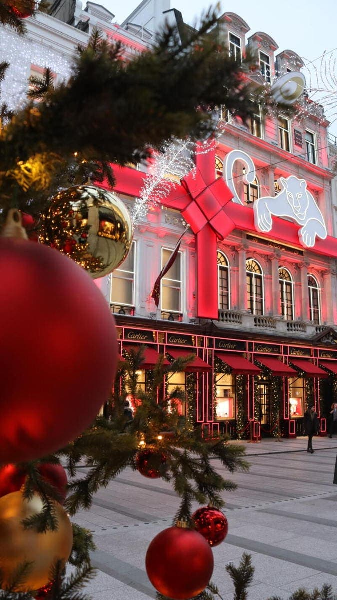 Cartier - London's Most Spectacular Christmas Lights