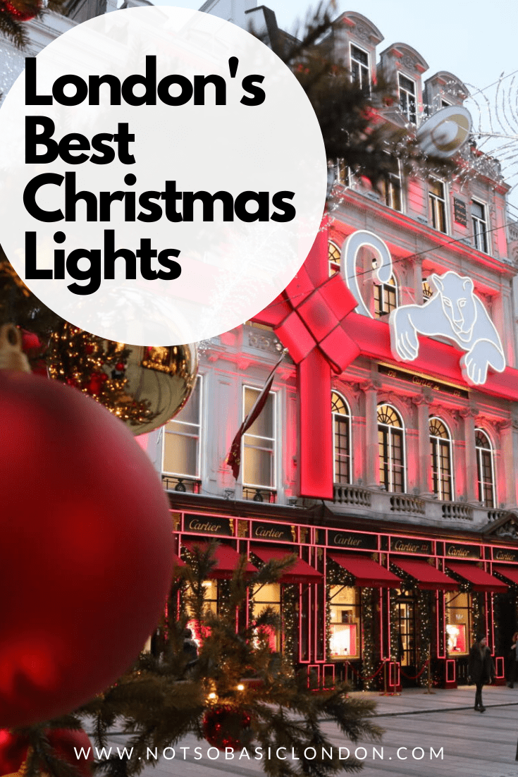 London's Most Spectacular Christmas Lights