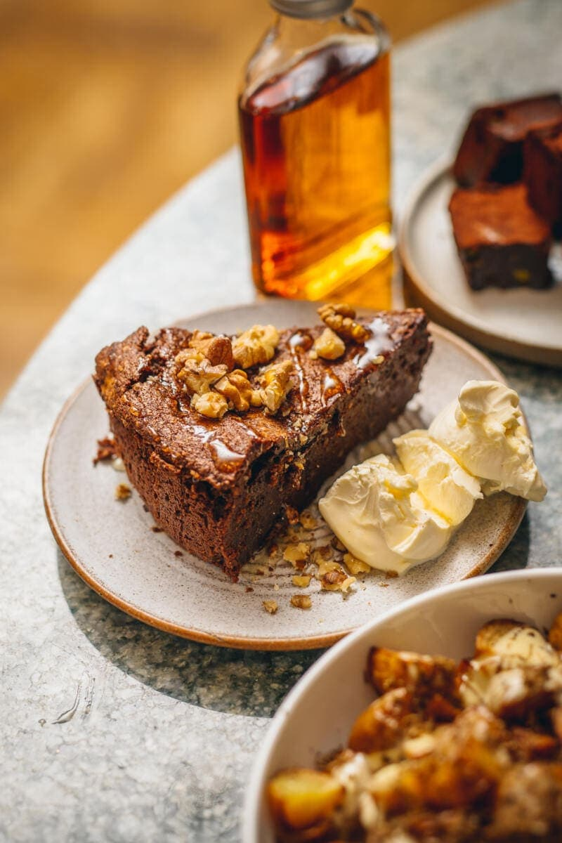 Norma Valentine's Feasting Box - Chocolate and walnut cake