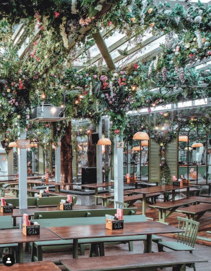 London's Best Rooftop & Outdoor Bars (Image of The Prince Outdoor Bar)