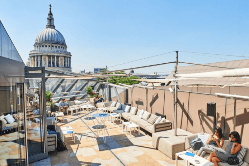 London's Best Rooftop & Outdoor Bars (Image of Madison Rooftop)