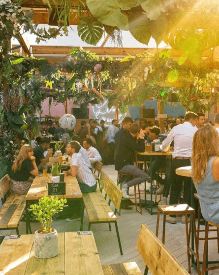 London's Best Rooftop & Outdoor Bars (Image of Lost in Brixton)
