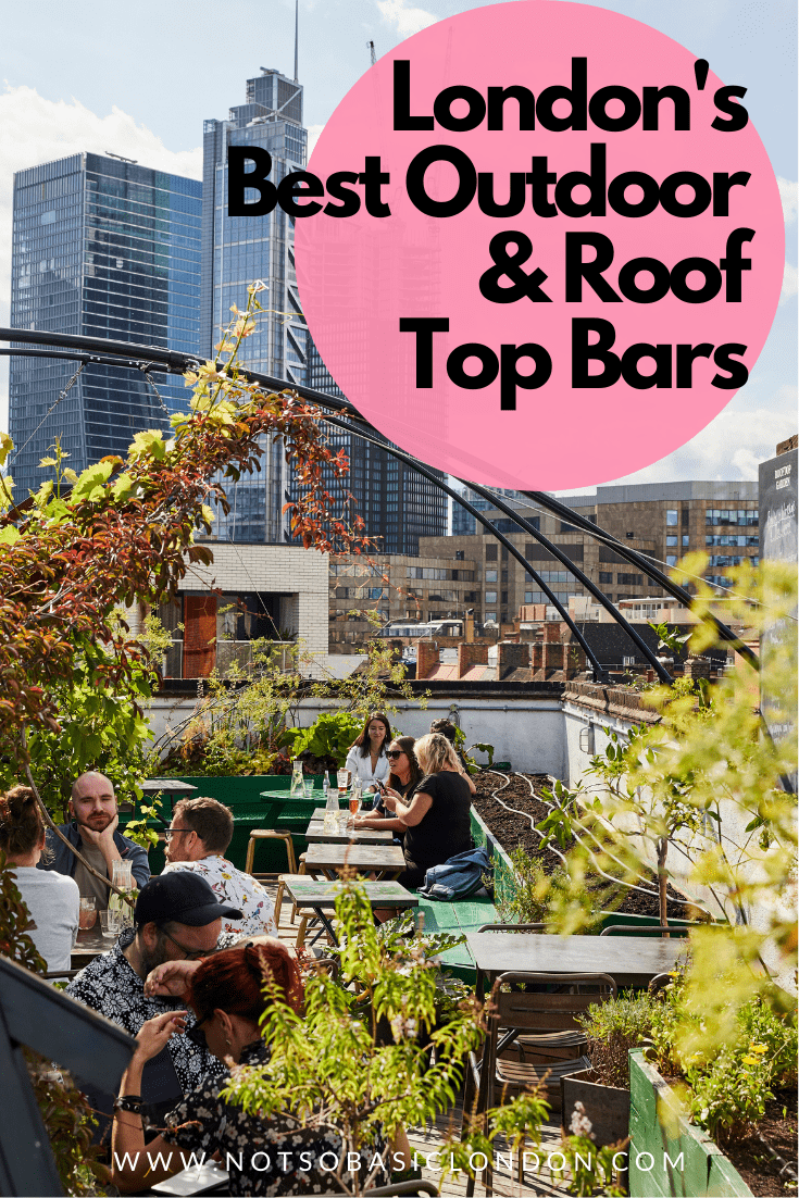 London's Best Rooftop & Outdoor Bars